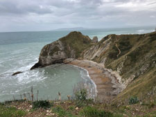 Coastal Landforms - Jurrasic Coast Bay
